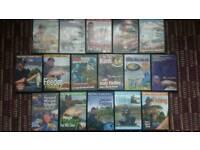 Fishing dvd x 16