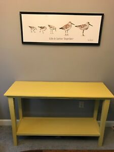 Sofa table or dining side table...multi use