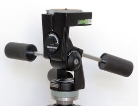 """Manfrotto 029 tripod head with """"fluid drag"""" lubricant upgrade"""