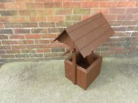 NEW HANDMADE WOODEN WISHING WELL