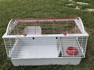 Rabbit/guinea pig cage. CLEAN IN EUC