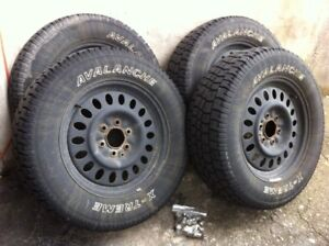 Truck tires and rims 245/65R17 X-treme Avalanche