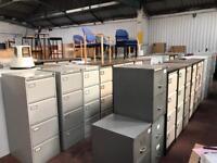 Metal 4 Draw Filing Cabinets
