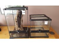 Exotic pet equipment and accessories