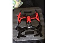Parrot Bebop Drone with case and extra batteries + Sky Controller