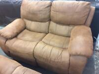 Harvey's 3 and 2 seater reclining sofas
