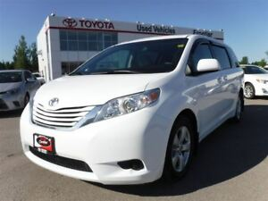 2015 Toyota Sienna LE 8 Passenger Window Visors Included