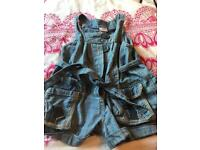 Next Denim girls playsuit