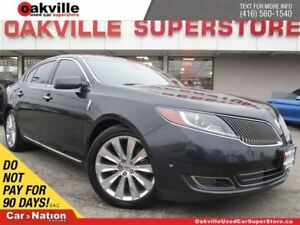 2014 Lincoln MKS EcoBoost | AWD | NAVIGATION | PANORAMIC SUNROOF
