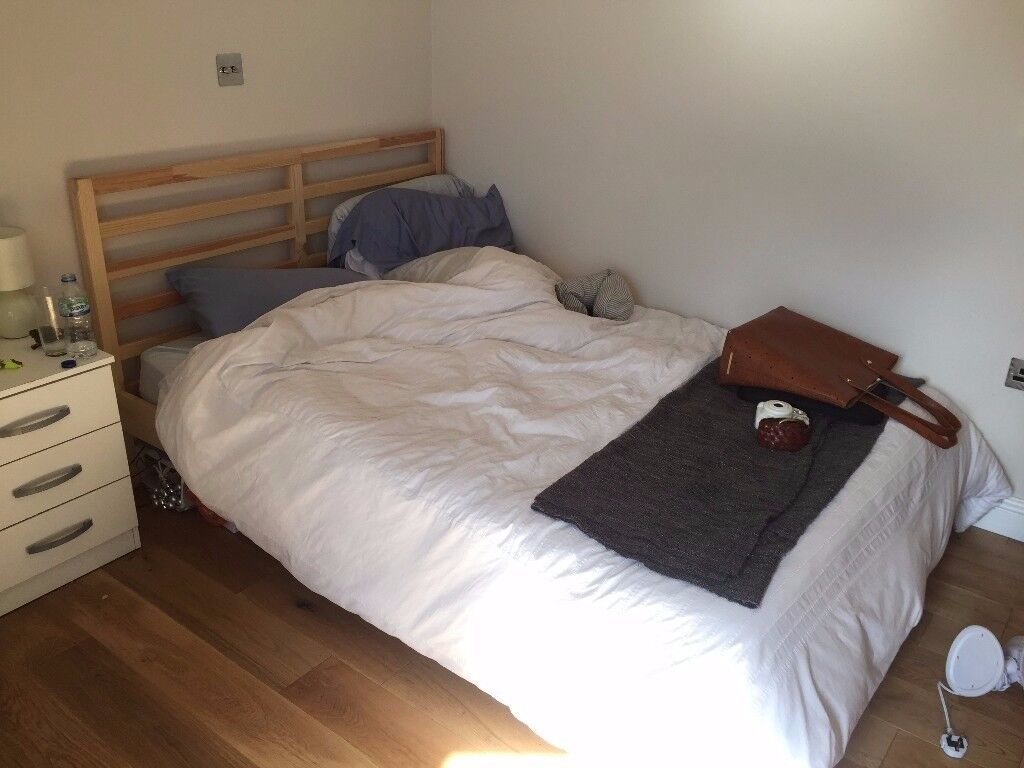 IKEA TARVA Bed frame Pine/luröy (£50 OBO) | in Brick Lane, London ...