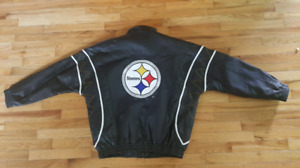 Pittsburgh Steelers Men's XL Leather Jacket