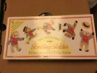 Tumbling teddies stationary collection