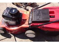 lawnmower mountfield hp454 rotary mower with grassbox