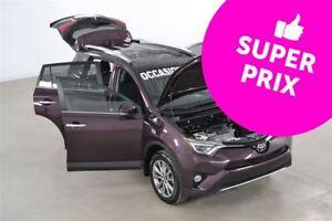 2016 Toyota RAV4 Limited AWD GPS+Cuir+Toit+Camera de Recul
