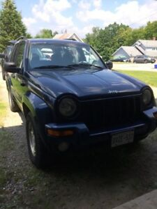 2004 Jeep Liberty SUV Dark Blue 3.7L V6