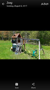Childrens outdoor play set