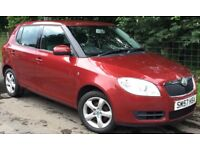Skoda Fabia 2 HTP 70 1.2 12v 5 Door Hatch,2 Lady Owners*MOT JUNE 2018*