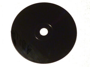 Black disc that are great for wall art or door curtain