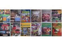 Swedish books, diy books, interior books and craft books