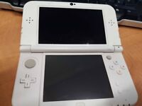 Pearl White New Nintendo 3DS XL (With as many free games as you want)