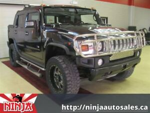 2005 Hummer H2 SUT Black Luxery Edition!