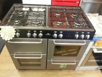 NEWWORLD 100CM ALL GAS RANGE STYLE BRAND NEW COOKER