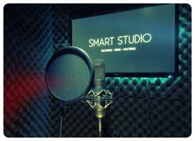 RECORDING STUDIO - New Facilities; Live Room, Vocal Booth, Day & Night Sessions
