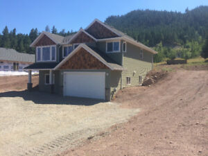 Brand new home on large lot only minutes from Williams Lake