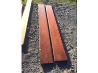 Hard wood (mahogany)