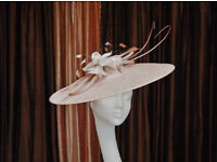 Stunning Peter Bettley Hat in soft pink