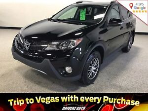 2015 Toyota RAV4 Limited LIMITED TRIM, BLIND SPOT MONITORING,...