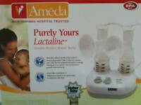 Ameda double breast pump