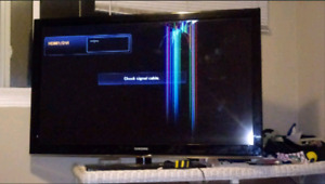 Samsung LCD 52 inch for parts