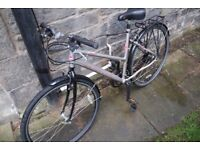 DAWES DISCOVERY 301 BICYCLE BIKE LADIES HYBRID CITY COMMUTER EXTRAS NO SWAPS