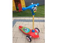 Kids mickey scooter