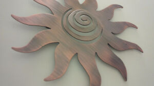Metal Decor Sun & Moon - for sale !