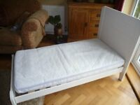 John Lewis Toddler Bed & Mattress in Excellent Condition