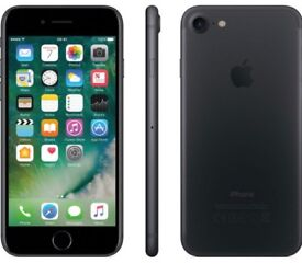iPhone 7 Matt black Like new 400 Ono