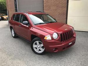 JEEP COMPASS SPORT 2008 AUTO / AC / MAGS / AUX !!