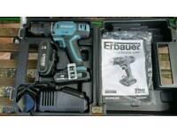 Erbauer 18v Li-ion cordless hammer drill