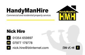 Handyman Hire - Commercial & Residential Property Services