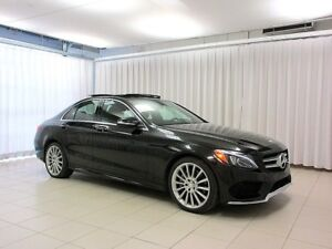 2015 Mercedes-Benz C-Class BEAUTIFUL!!! C400 4MATIC AWD SEDAN w/