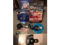 Various PlayStation ps1 , Ps2 and wii items