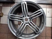 alloy wheel audi 22 inch 9.5 J bargain