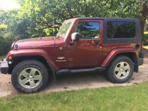 2008 Jeep Wrangler Coupe (2 door)