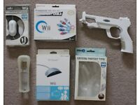 Lot of accessories for console Nintendo Wii