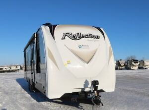 SAVE $9000 ON BRAND NEW 2017 REFLECTION 312BHTS TRAVEL TRAILER