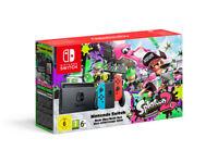 Nintendo Switch Neon + Splatoon 2 Full Game Download