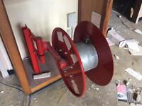Industrial fire hose reel x3 available