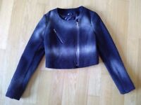 Women's blazer - Black & Silver - WE - Size M - Like new